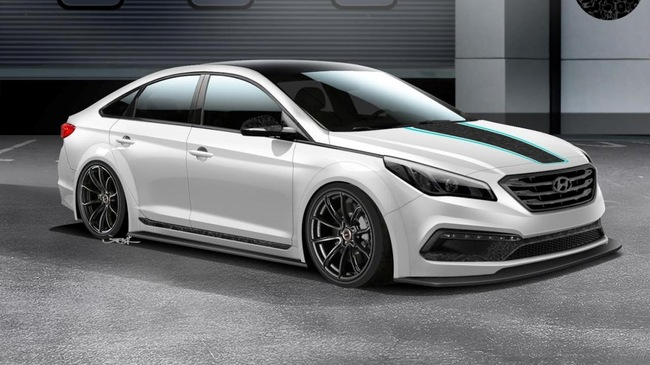 Body kit Hyundai Sonata 2015