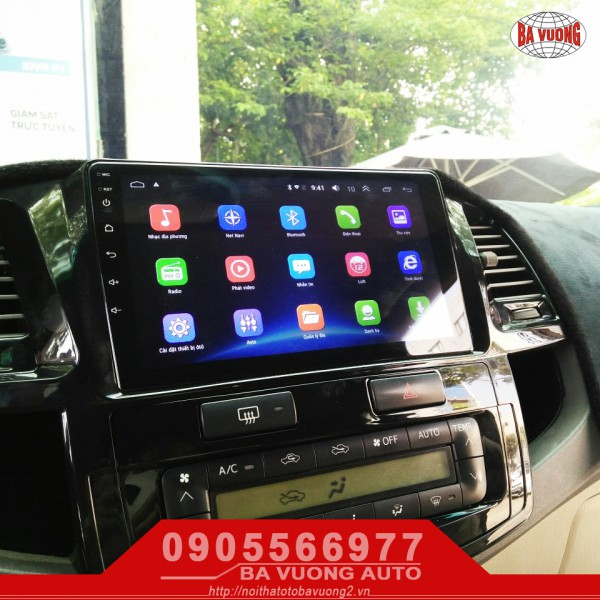 [Ba Vuong Auto] DVD Android Fortuner
