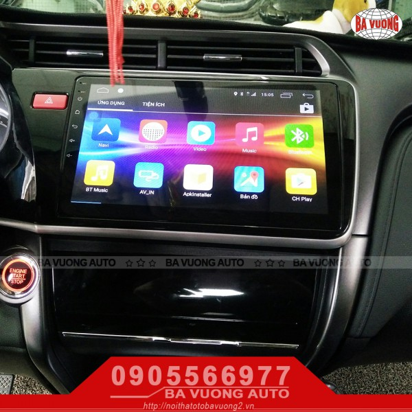 [Ba Vuong Auto] DVD Android City 2018